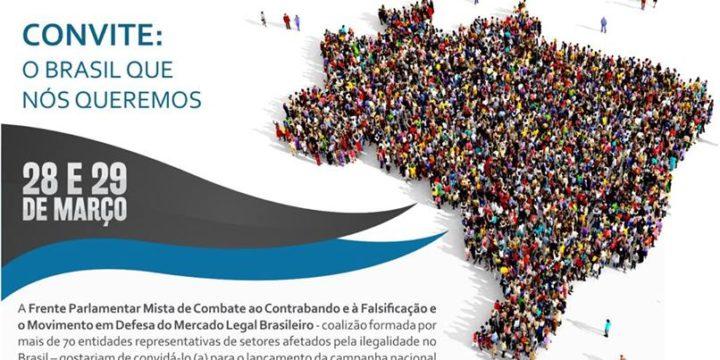 """Presidente do IIEDE comparecerá ao lançamento da campanha """"O Brasil que queremos"""""""