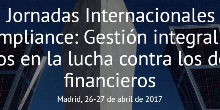 VII Jornadas de Compliance – Madri 2017 – 26/04/2017