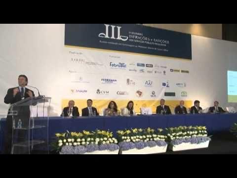 Ministro Luiz Fux  no III Seminário Infrações e Sanções nos Serviços Públicos Regulados