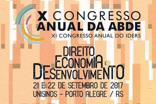 X Congresso Anual da ABDE