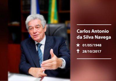 MP-RJ comunica falecimento do Dr. Carlos Antonio da Silva Navega